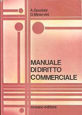GIURIDICA - A. GRAZIANI / G. MINERVINI  - MANUALE DI DIRITTO COMMERCIALE -Morano