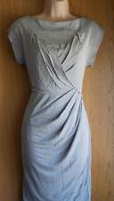 NewWT Karen Millen taupe modern jersey folded evening dress UK 10 & 14 £140
