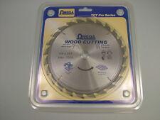 """Circular saw blade wood rip cut carbide tipped 184mm (7.1/4"""") 16 bore 24 teeth"""
