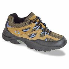 Aetrex Women's Tan/Periwinkle V751 Sierra Hiking Shoe