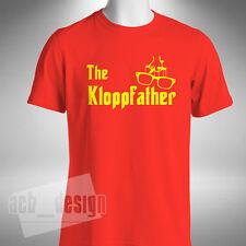 Jürgen Klopp kloppfather Da Uomo T-shirt Klopp Liverpool FUNNY OCCHIALI Padrino
