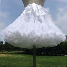 Ladies Retro Petticoat Crinoline Underskirt Rockabilly Swing Tutu Skirt Cosplay
