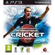 ps3 INTERNATIONAL CRICKET 2010 English Language Playstation UK REGION FREE
