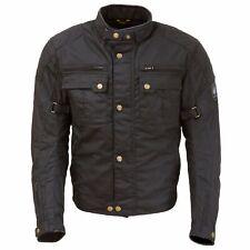 Merlin Perton Men's Waxed Cotton Motorcycle Heritage Jacket