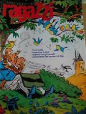 Messaggero dei ragazzi 5 1982  Cavalieri di Re Artù