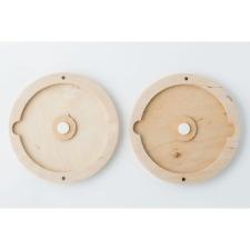 Handmade wedding wood photo box for DVD , CD  for wedding