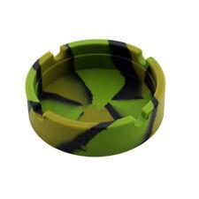 Posacenere tondo leggero in silicone Resistenza al calore Premium colorato