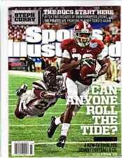 September 9, 2013 Christion Jones Alabama Regional Sports Illustrated NO LABEL A