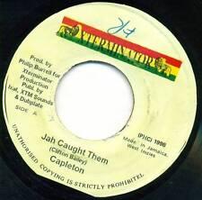 "Capleton-Jah caught them 7"" single xterminator s4736"