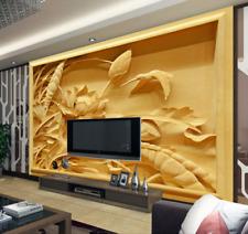 3D Lotu Bird 614 Wallpaper Murals Wall Print Wallpaper Mural AJ WALL AU Kyra