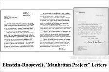 Poster, Many Sizes; Einstein-Roosevelt-Letter