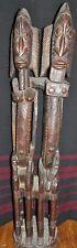 Dogon Ancestral Couple Statue - 51.5 Inches- Mali