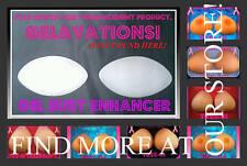 GELAVATIONS BRA INSERTS BREAST FORMS BREAST ENHANCERS
