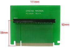 PCI express x16 carte de montage rigide extender.. adaptor.btx la carte de montage PCI-E de bureau