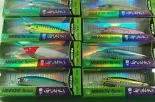 Gunki Wobbler Gigan 65 F Raubfischköder Spinnangeln Wobbler Crank Bait Hecht