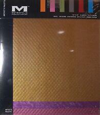 Scrapbook Paper Metropolitan Textured 6 Sheets for Crafts New - a