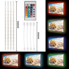 2M/3M USB RGB LED Stripe Streifen TV Hintergrund Beleuchtung Licht Fernbedienung