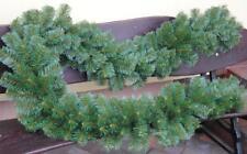 270-300cm Weihnachtsgirlande dicke Tannengirlande Grün Weihnachtsdeko In-Outdoor