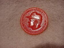 TOUGH 1959 Armour Bob Cerv Orange Coin, Kansas City Athletics, HI GRADE!!