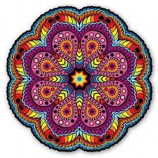 Mandala 2 Colorful Design Spiritual Circle Car Vinyl Sticker - SELECT SIZE