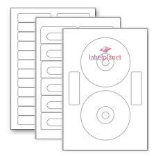 A4 Blank Media Self-Adhesive Matt White for Laser/Inkjet Printer Label Planet®