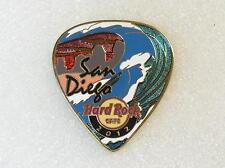 SAN DIEGO,Hard Rock Cafe Pin,POSTCARD 2012 Guitar Pick Series