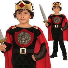 LITTLE KNIGHT KING ARTHUR CHILD BOY MEDIEVAL FANCY DRESS BOOK WEEK KIDS COSTUME