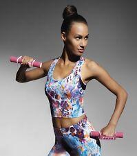 Top haut multi sports femme - Cathy Top 30 - Vêtements sport Bas Bleu