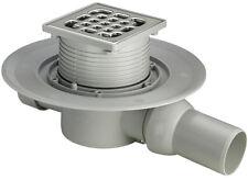 Viega Advantix Badablauf Extraflach waagerecht 50 mm Bodenablauf Duschablauf.