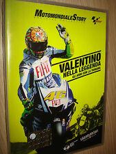 DVD N°1 MOTOMONDIALE STORY OFFICIAL COLLECTION MOTO GP VALENTINO NELLA LEGGENDA