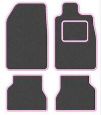 Suzuki Samurai/Santana/SJ 410 Velour Grey/Pink Trim Car mat set