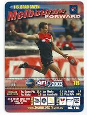 2003 Teamcoach (116) Brad GREEN Melbourne