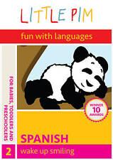 Spanish for Kids: Wake Up Smiling DVD, Little Pim the Panda, Julia Pimsleur Levi