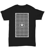 Masonic shirt - Freemason Mosaic Floor blazing star symbol tracing board tee