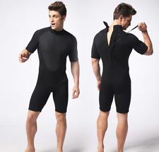New men 3mm neoprene diving suits free dive scuba snorkeling jump short wetsuits