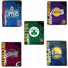 "New Basketball Pick Your Team Fleece Soft Throw Blanket 50"" x 60"""