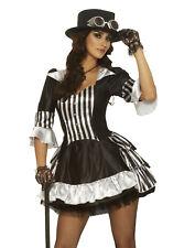 Steam Dream Steam Punk Vampire Victorian Fancy Dress Women Halloween Costume