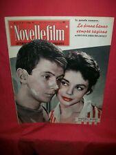 GEORGIA MOLL GUY BERTIL GINGER ROGERS 1957 Novelle Film 494 CINEMA Magazine