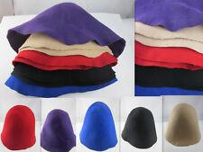 Felt Wool Cone Cloche Hood Millinery Hats Fascinators Block Base 5 Color