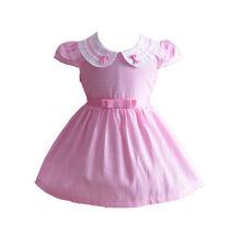 Cinda per bambine a strisce vestito festa in blu rosa 6 9 12 18 24 mesi 3 4 5 6