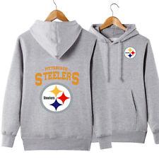 Pittsburgh Steelers Hoodie Casual Sweatshirt Pullover Hooded Coat Gift For Fans