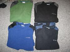 COLUMBIA Men's Glacier Fleece Crew Neck Pullover, All Sizes&Colors,100% Polystr