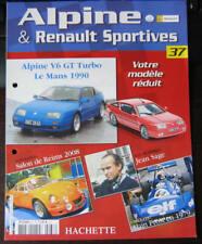 FASCICULE 37  ALPINE RENAULT SPORTIVES V6 GT TURBO LE MANS 1990