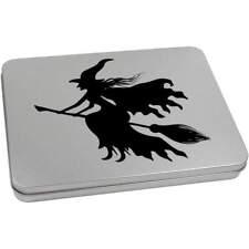 'Witch Silhouette' Metal Hinged Tin / Storage Box (vTT0017586)