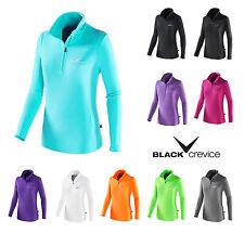 BLACK CREVICE - Damen Fleece Pullover > 170g/m2