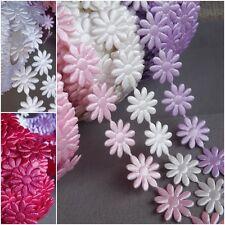Flower trim Braid satin lace ribbon crafts sewing card dolls embelishment dress