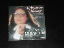 45 tours Nana MOUSKOURI  L' Amour en Héritage BO série TV  1984 / Vladimir COSMA