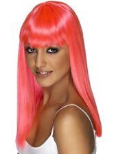 SALE Wigs 50% OFF - Smiffy's Ladies Pink Glamourama Wig