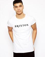 Brixton T-shirt MARILLION Inghilterra Stampato Union Jack Souvenir Regalo Graphic Tee T