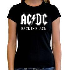 Camiseta chica mujer AC/DC t shirt women hard rock heavy metal metalhead